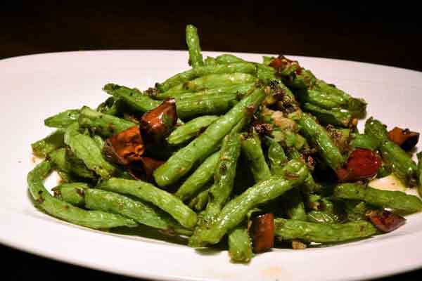 green beans i Kina
